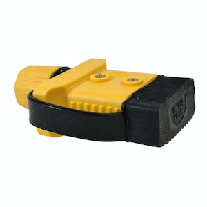 Trailer Vision 50 amp Anderson Plug Cover with Dust Cap Yellow