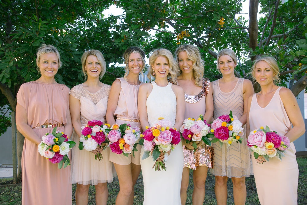 STEPH + EVERETT'S BLUSH WEDDING