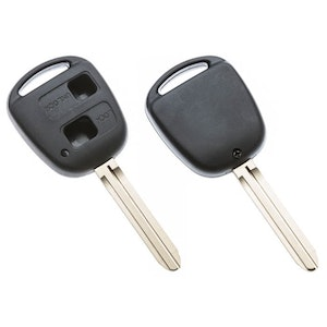 Silca Toyota 2 Button Replacement Key Shell