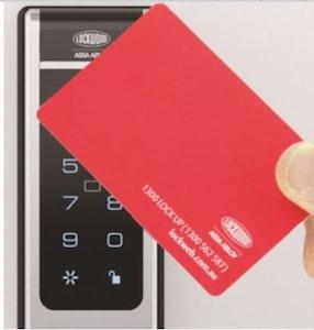 Lockwood Replacement Swipe Card For Lockwood Cortex Keyless Electronic Door Lock