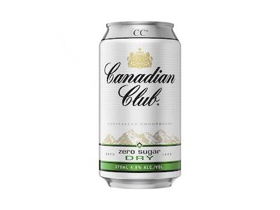 Canadian Club & Dry Zero Sugar Can 375mL
