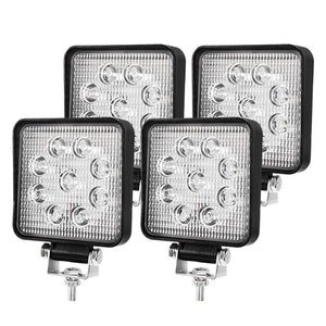 LIGHTFOX LIGHTFOX 4x 4inch CREE LED Work Light Bar Spot Flood Reverse Driving Lamp OffRoad 4WD 4X4