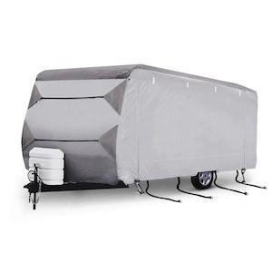 SAN HIMA SAN HIMA 18-20ft Caravan Cover Heavy Duty Campervan 4 Layer UV Carry bag Covers