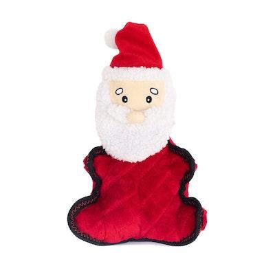 Zippy Paws Christmas Holiday Z-Stitch Grunterz - Santa