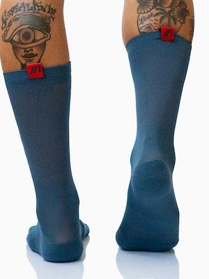 Twenty One Cycling Factory Lightweight Socks - SteelBlue - Unisex
