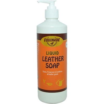 Equinade Liquid Leather Soap Lanolin Horse Saddle Bridle Harness 500ml