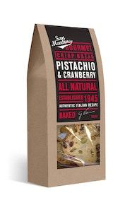Crisp Bread - Pistachio & Cranberry 100g