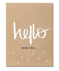 Hello (miss you…)