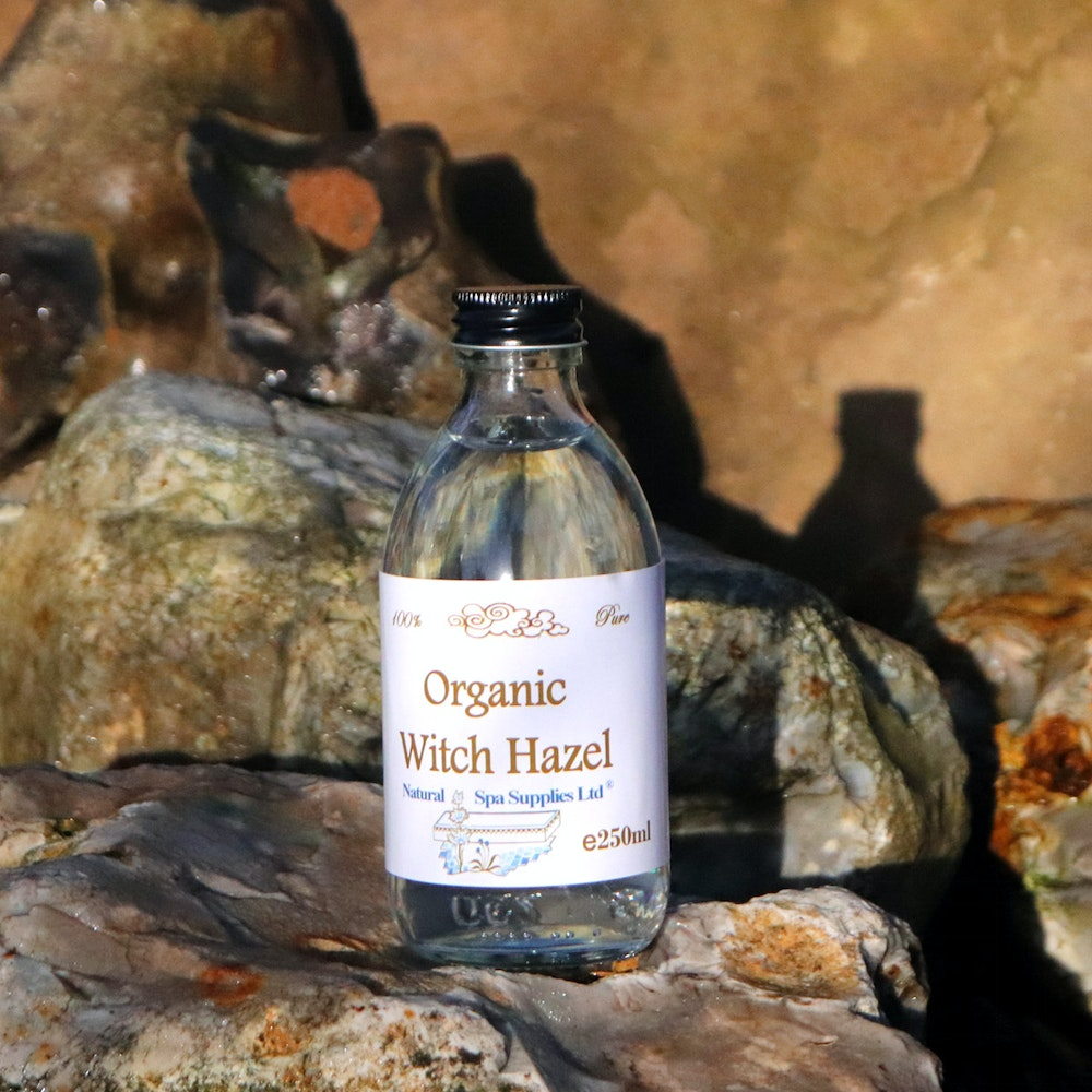 Natural Spa Supplies Witch Hazel, 100% Pure And Organic Ingredients
