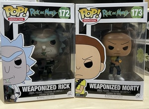 Weaponized Rick and Morty set of 2