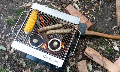 Homecamp Flatpack Firepit + Grill Review