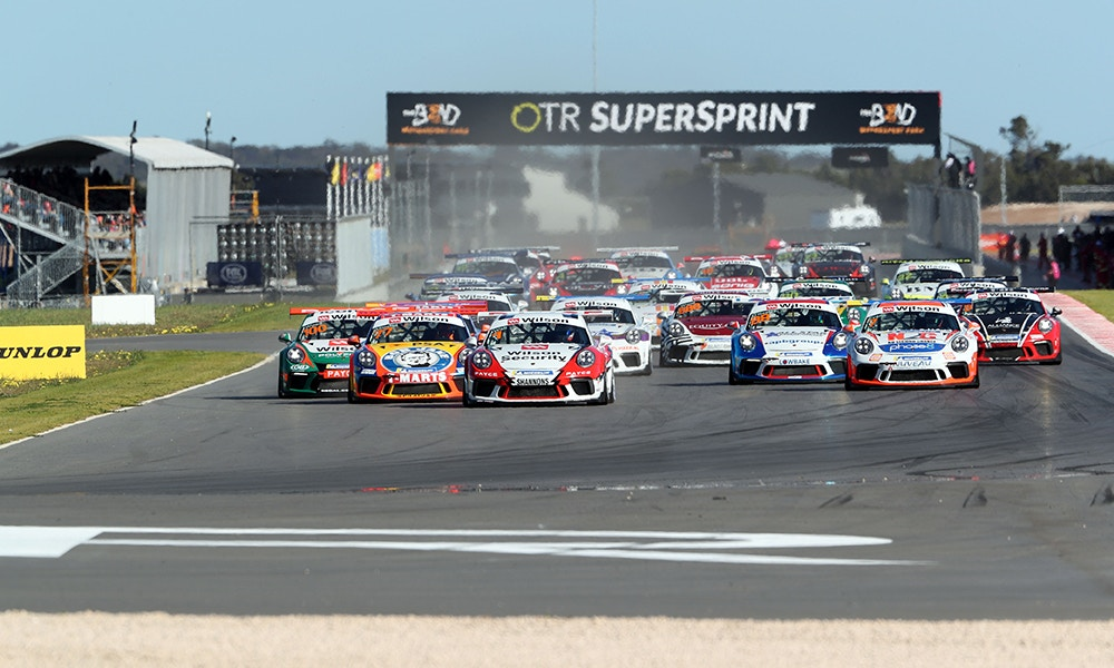 2018 Porsche Carrera Cup Series, Round 6, The Bend SuperSprint, 24 -26 August