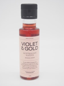 Violet & Gold Strawberry and Tasmanian Pepper mixer