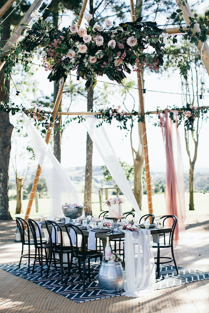 LENZO Bohemian Byron Bay Wedding Essentials