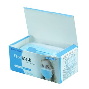 50 Unbranded Disposable Face Masks