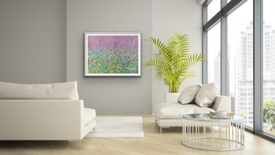 Fiona Adams Artwork Loving Kindness - Landscape Print