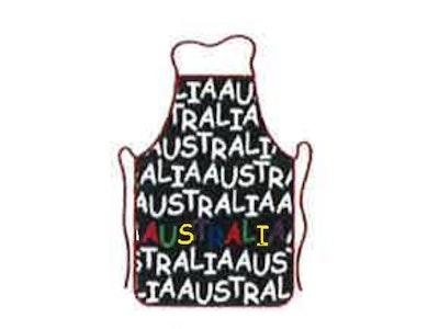 Boutique Medical AUSTRALIA FLAG APRON Australia Day BBQ Aussie Party 100% Cotton Oven Chef Souvenir