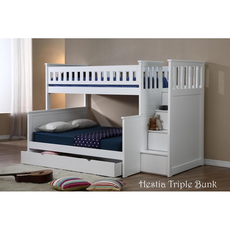 Kids Furniture Fdo Hestia Bunk Bed Single Over Double