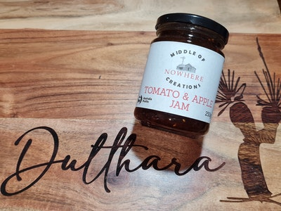 Middle Of Nowhere Creations Tomato & Apple Jam 250g