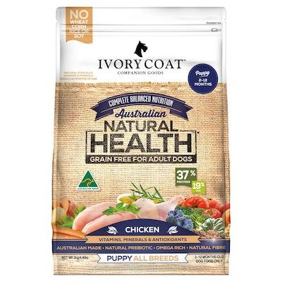 IVORY COAT Grain Free Puppy Chicken Dry Dog Food