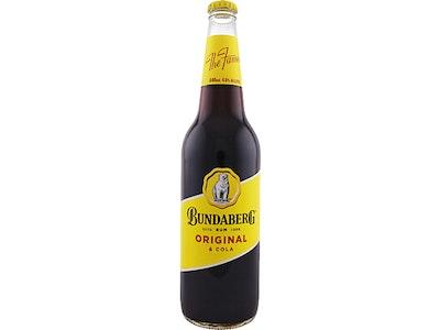 Bundaberg Original Rum & Cola Bottle 640mL