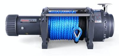 Runva Ewn17500 24v With Synthetic Rope