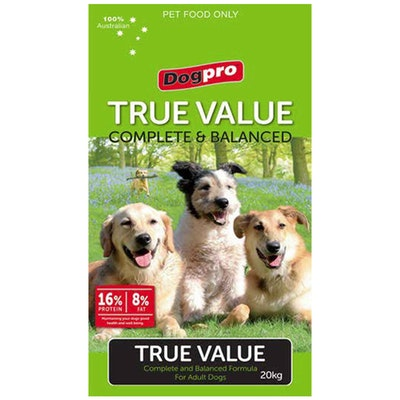 Dogpro True Value Complete Low Cost Dry Dog Food 20kg