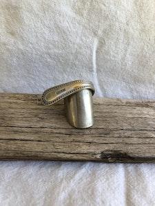 "Brass ""Berty"" ring (Size Q)"