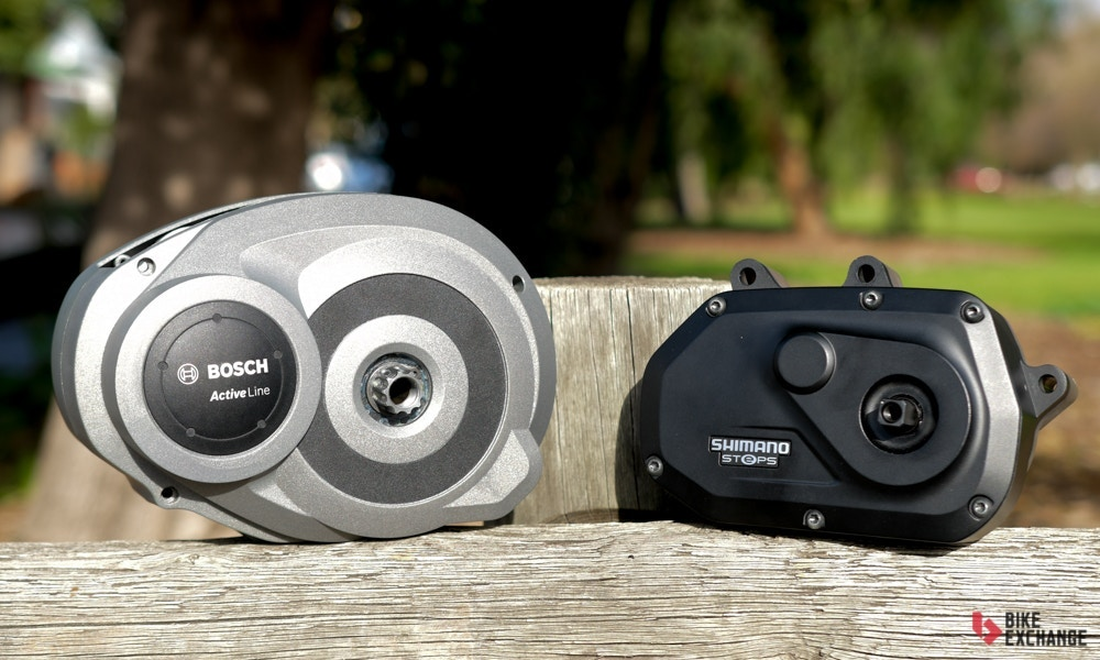 Shimano Steps E6000 & Bosch Active E-Bike Systems Compared