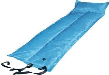 Trailblazer Self-Inflatable Air Mattress With Pillow | Light Blue