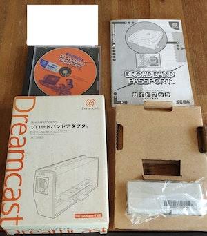 Sega Official Broadband Adapter HIT-0400 0401 For DreamCast