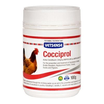 Vetsense Cocciprol Coccidiosis Treatment for Chickens 100g