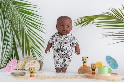 Designed by Florence Uzoma Solami Dolls
