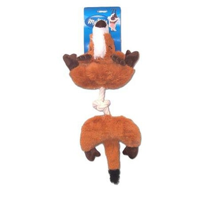 My M8s Plush Gazelle Tug Interactive Play Dog Chew Toy