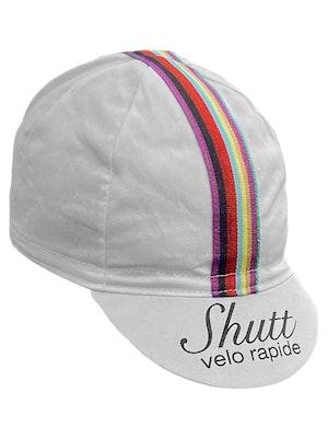 Shutt Velo Rapide White Signature Team Cap