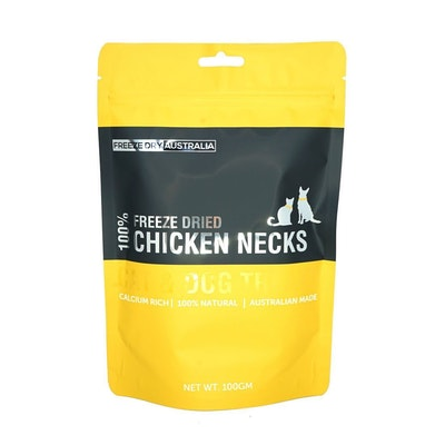 Freeze Dry Australia - Chicken Necks 100g
