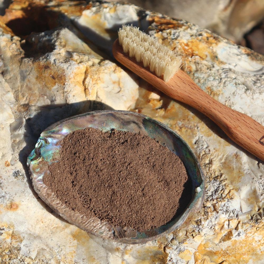 Natural Spa Supplies Walnut Bark Tooth Powder (derum) Tooth Whitener, Gum Tightening