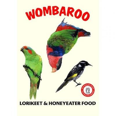 PASSWELL Wombaroo Lorikeet and Honeyeater Food Formula  300gm