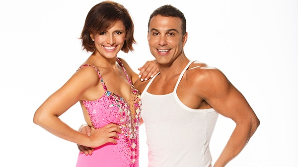 Sally on Dancing with the Stars