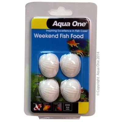 Aqua One Block Weekend Fish Food 20g