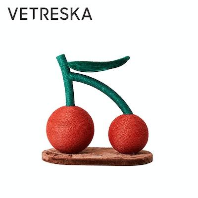 VETRESKA Fruity Cat Scratching Tree – Double CHERRY