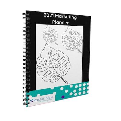 Rachel Allan | Strategic Marketing Partner Marketing Planner - Printed