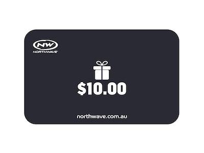 $10 Northwave Australia e-Gift Card