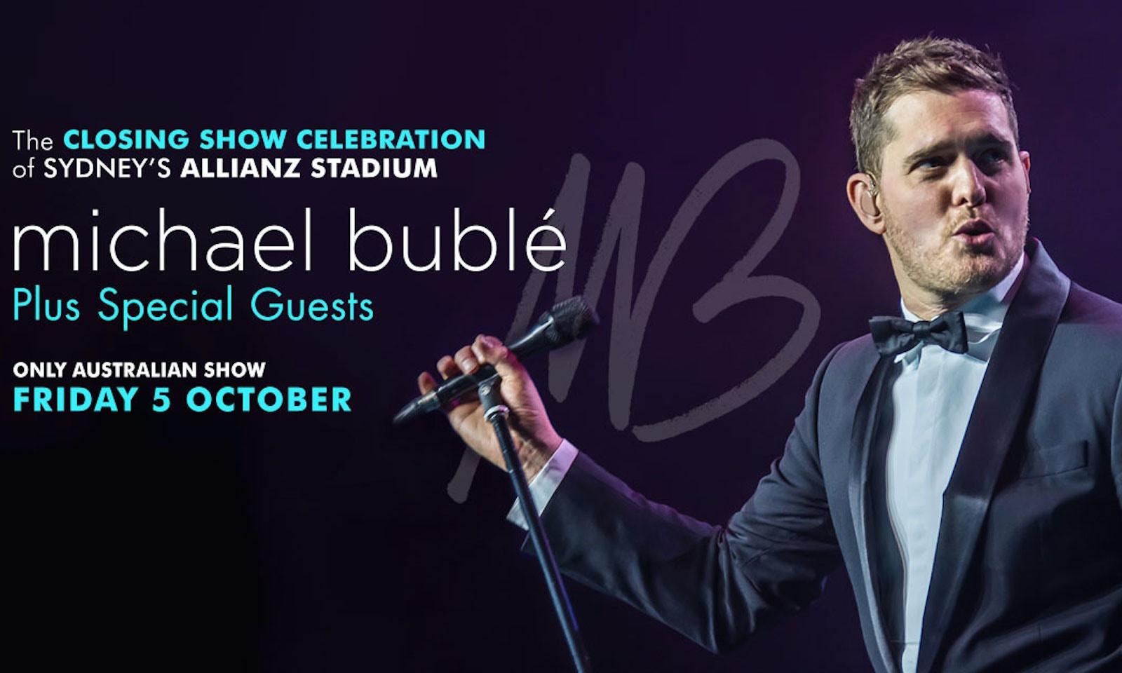 Michael Bublé's One Off Australian Show!