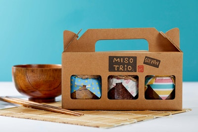 Cooking with Koji Organic miso trio - Soy free (Gluten free / Vegan)