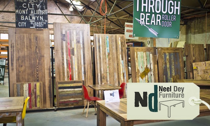 Neel Dey Recycled Timber Furniture A Brand We Love