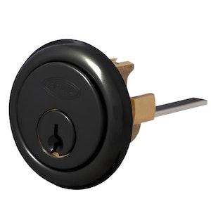 Brava Matt Black 201 Style Rim Cylinder-Suits Lockwood, Yale, Abus Rim Locks