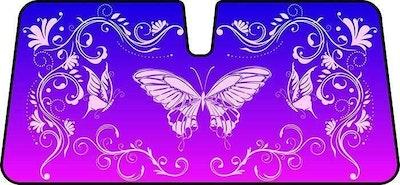 Butterfly Pink Premium Sunshade