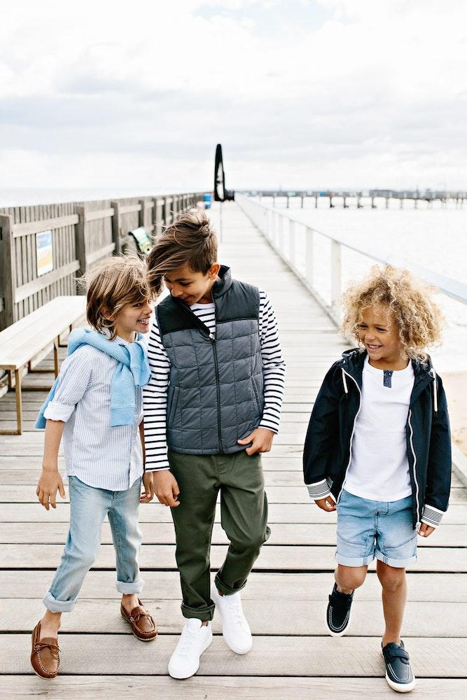 LENZO Betts Kids Summer Boys Beach Shoes