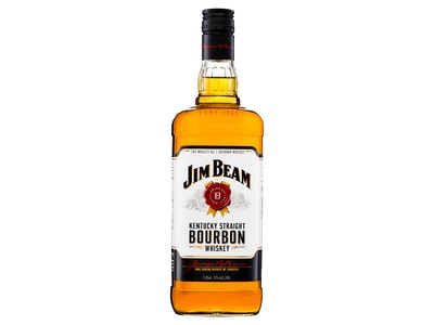 Jim Beam White Label Bourbon Whiskey 1.125L